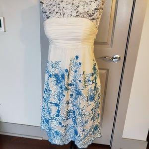 Anthropologie Cornflower Dress